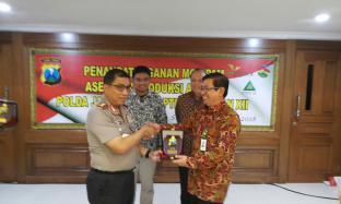 Amankan Aset dan Kelancaran Produksi, PTPN X Jalin Kerjasama dengan Polda Jatim