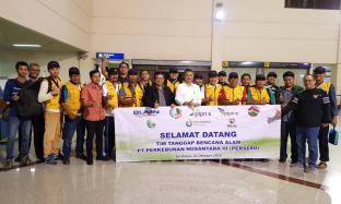 Relawan Holding Perkebunan Nusantara Selesaikan Tugas di Palu