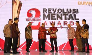 PTPN X Raih Dua Penghargaan dalam Revolusi Mental Award 2019