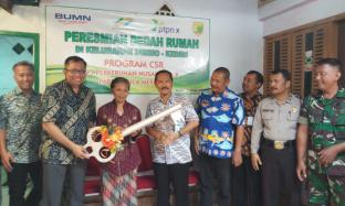 PG Meritjan,  Salurkan CSR melalui Bedah Rumah Tidak Layak Huni