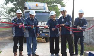 Direksi PT Enero Resmikan Jembatan Timbang
