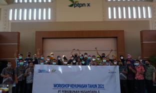 Asah Strategi Komunikasi & Konten Planning, PTPN X Gelar Workshop Kehumasan