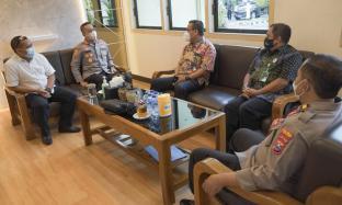 Jalin Koordinasi Sinergis, PG Lestari Berkunjung ke Polres Nganjuk